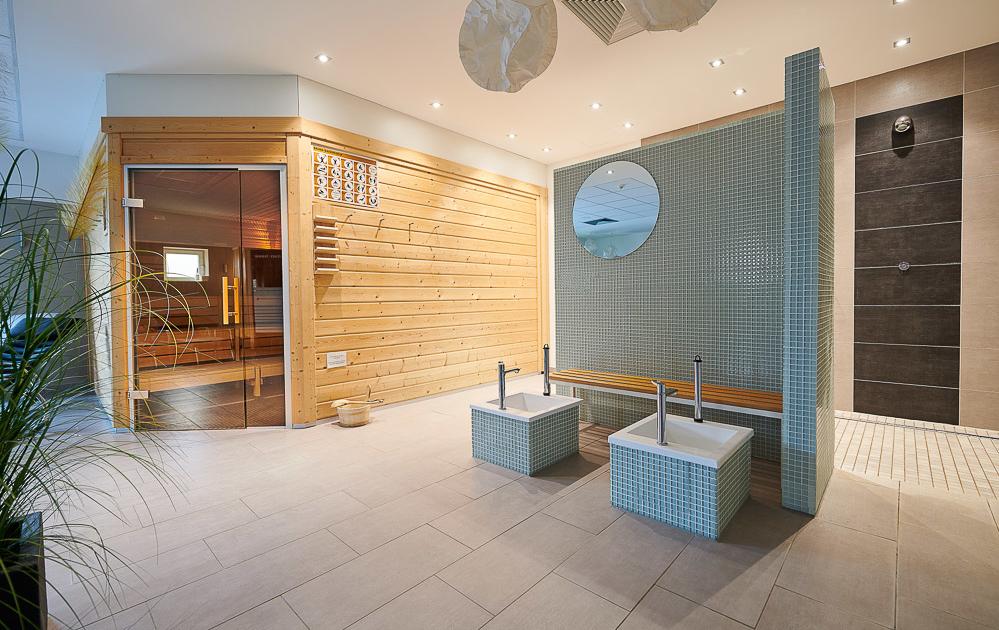 Sauna - Dusche